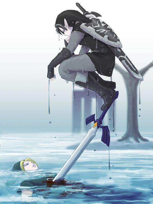 Erinnert mich irgendwie an so einen Anime Film den ich geschaut habe ich glaub Brave Story hieß der #MavisChan