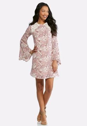 Cato Fashions Plus Size Lace Swirl Floral Swing Dress  CatoFashions ... a9eef6432
