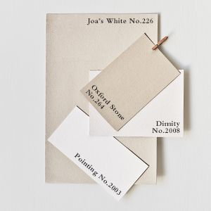 Farrow & Ball. Colour schemes. Joa's white, Oxford Stone