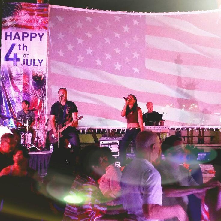 Celebración Independencia USA en hotel Dreams Puerto Morelos