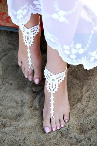 Beach Sandals | Wedding Shoes Online – Beach Bridal Bliss
