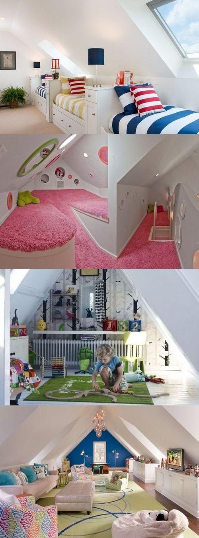 Как превратить чердак в детскую комнату