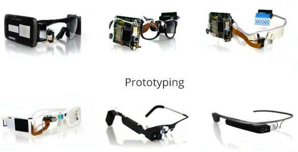 Google Glass Prototypes