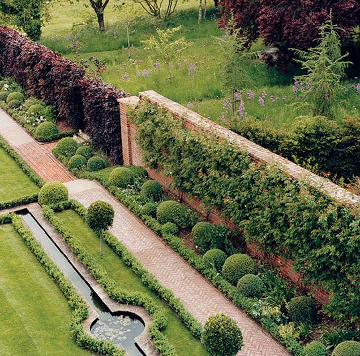 Formal Garden Design Idea: 300 Best Formal And Parterre Gardens Images On Pinterest