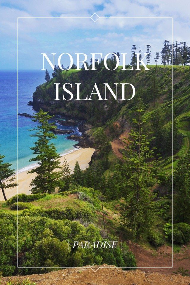 | PARADISE | NORFOLK ISLAND This May I took a very different trip to a place that not many people even know about! I went to Norfolk Island, officially an external territory of Australia but worlds apart! I'd love to share some history with