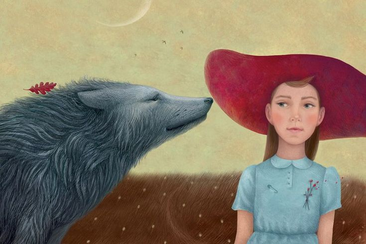 Little Red Riding Hood illustrated by Galya Zinko