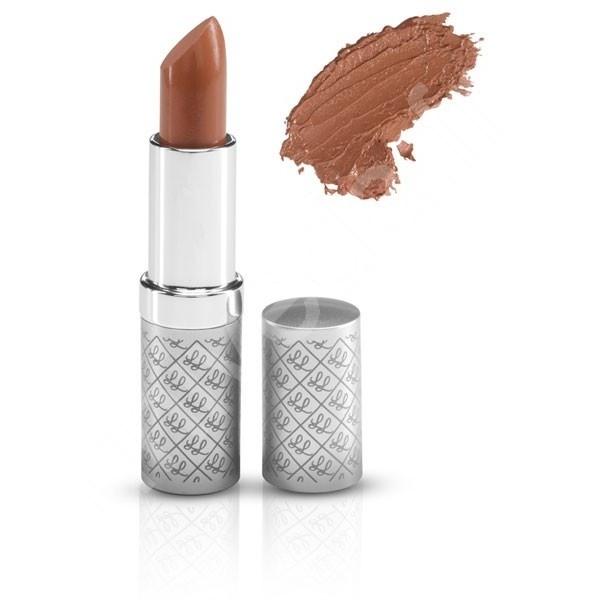 Demure, rouge à lèvre de Lily Lolo, a la couleur d'une pêche bien mûre.  Naturel et tout doux il hydrate et maquille discrètement les lèvres les plus délicates.  #univeda #lilylolo