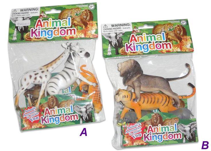 Divoká zvířata - sáček (4 ks), ass. 2