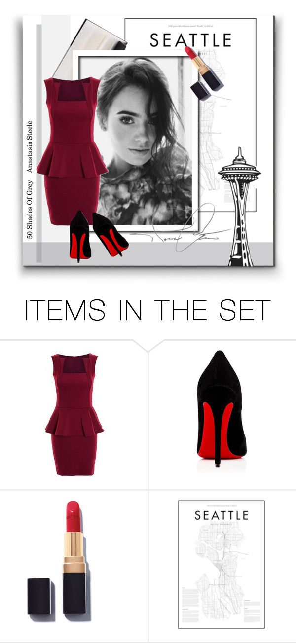 """""""Fav. Character - Anastasia Steele No.178"""" by beccashops ❤ liked on Polyvore featuring art"""
