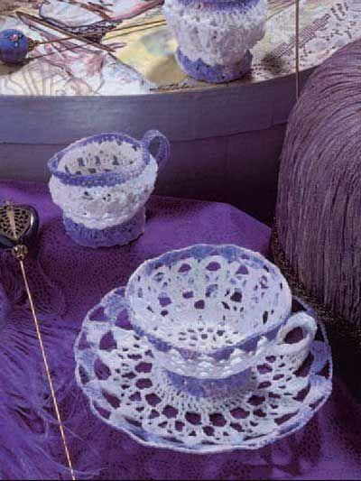 Tea Set free pattern