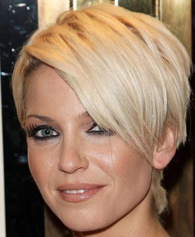Sarah Harding Short Blonde Wedge | Casual, Everyday |Careforhair.co.uk