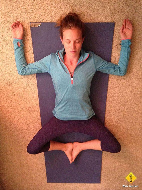 Yoga for runners: restorative yoga poses