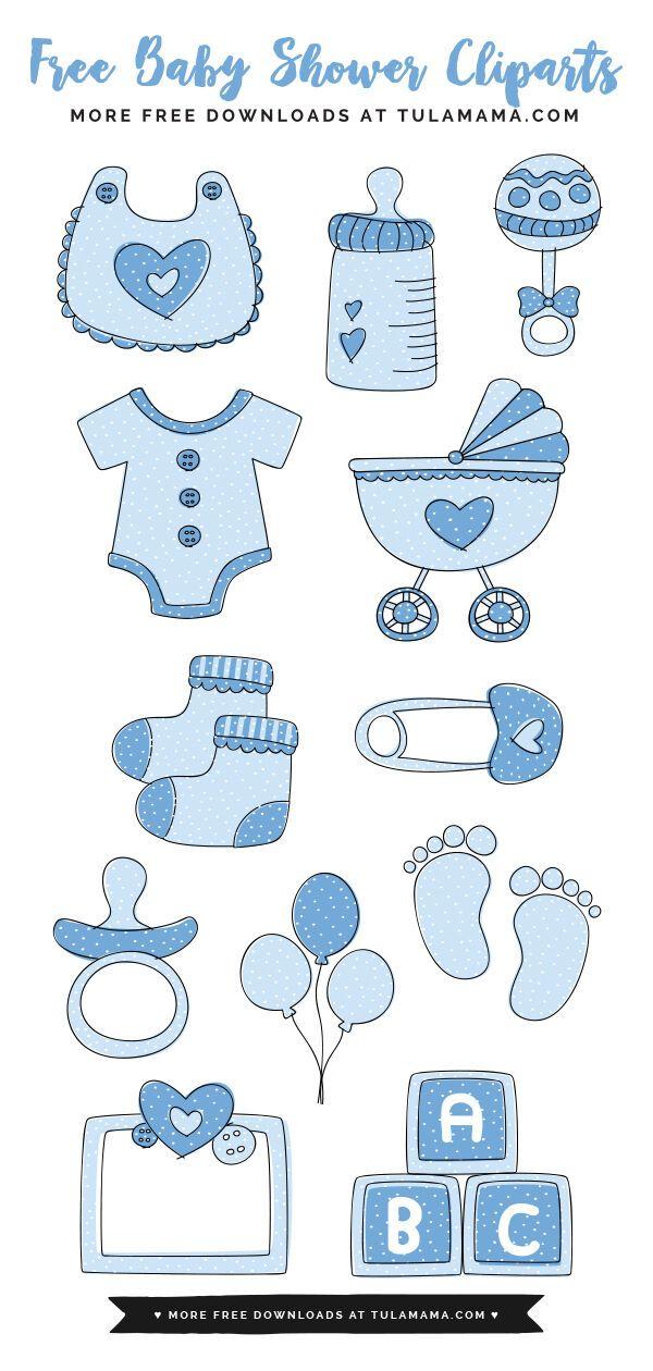 Baby Boy Clip Art : Confeitaria