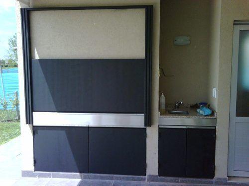 Parrillas interiores buscar con google deco for Puertas para patios modelos
