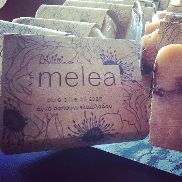 melea soap cold process / pure olive oil soap