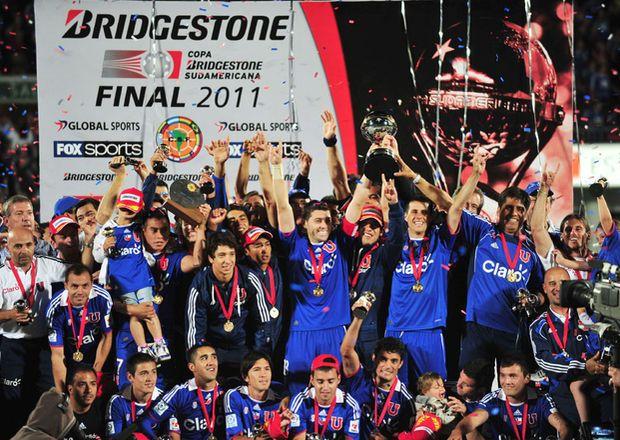 U. de Chile campeón de la Copa Sudamericana 2011.