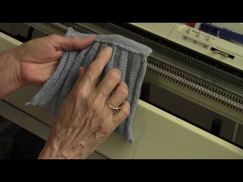 Shadow Pleats By Diana Sullivan | Машинное вязание | Постила