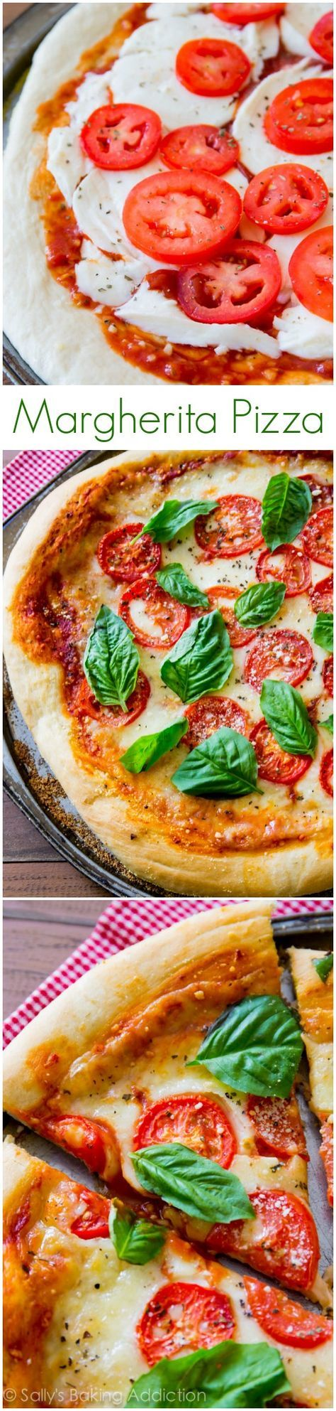 Sometimes you just can't beat fresh, simple, and classic Homemade Margherita Pizza. And this recipe is the BEST!