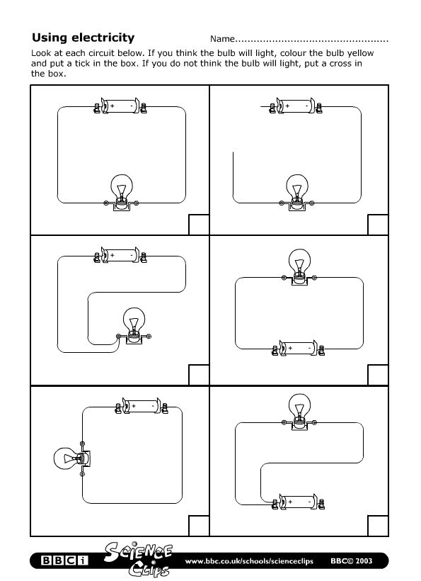 Drawing circuits worksheet pdf