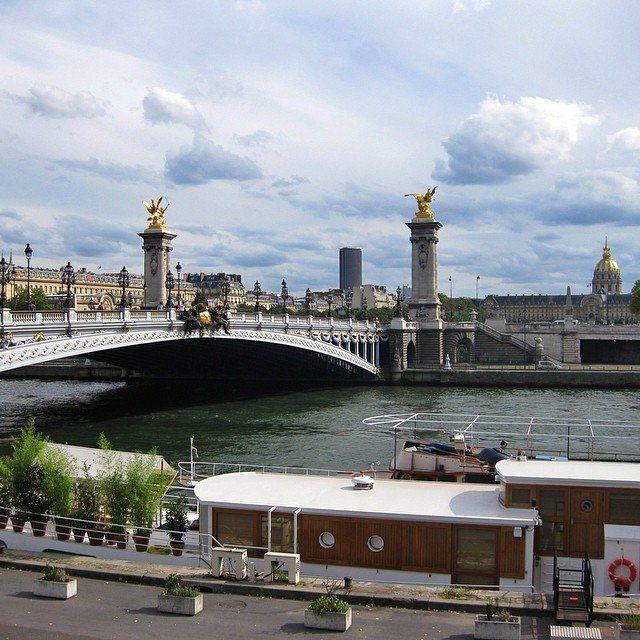 Pont Alexandre III, Paris, France. - http://great-trips.com/pont-alexandre-iii-paris-france.html?utm_source=PN #Bridge, #Cestmonparis, #Cp, #France, #Greattrips, #Ilovefrance, #Iloveparis, #Paris, #Pariscartepostale, #Pariscity, #Parisdaily, #Parisforever, #Parisjetaime, #Parismonamour, #Parisphoto, #Pont, #Russia, #Tribegram, #александр3, #гранпале, #история, #мост, #париж, #россия, #франция, #царь, #パリ, #フランス, #�
