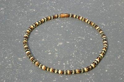 Barnsteen collier  lengte 45 cm