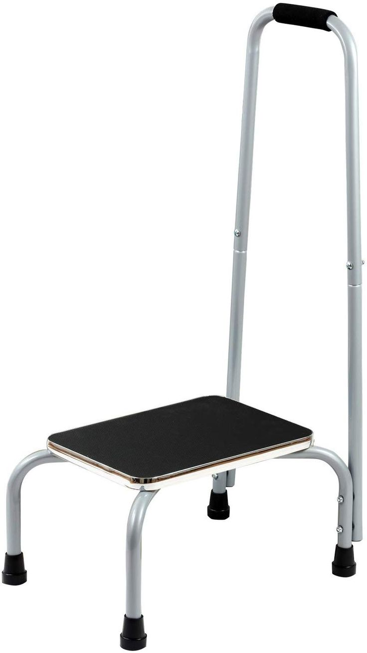 Bedside Step Stools For Adults: Bundaloo Support Step Stool Best Foot Stool For Hospital