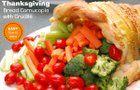 ¡Cómo crear una cornucopia de pan con crudité para el Día de Acción de Gracias!