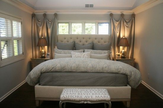 bedroom in the new house is small. this looks like a good idea for a small room....reépinglé par Maurie Daboux .•*`*•. ❥