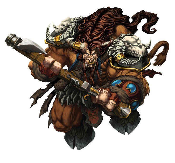 Warcraft Tauren Art by mikebowden.deviantart.com on @deviantART