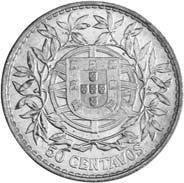 50 centavos , 1912, a moeda mais antiga da República Portuguesa