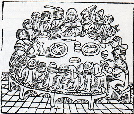 medieval coloring pages feast - photo#27