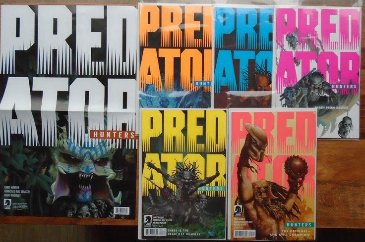 Predator Hunters #1-5 Full Set. Dark Horse 2017. Plus Promo Poster. NM £16 www.luckytargetcomics.com #predator #darkhorse #comics