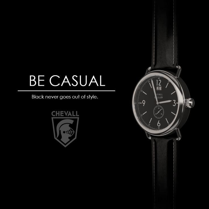 Swiss quartz movement with a black leather strap and a vintage case design. Kickstarter soon #watch #mensfashion #menstyle #cool #gentlemen #