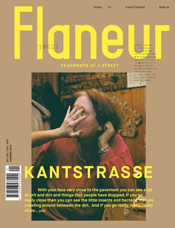 Flaneur ISSUE 1 KANTSTRASSE, BERLIN