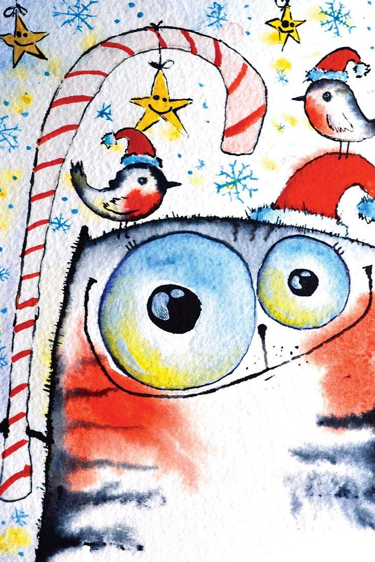 217 С Новым годом! Рисунок Кати Чуйковой