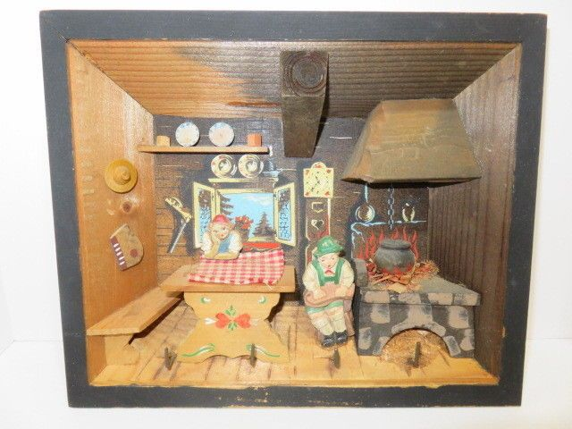 Kitchen Diorama Made Of Cereal Box: 17 Best Ideas About Cabin Dollhouse On Pinterest