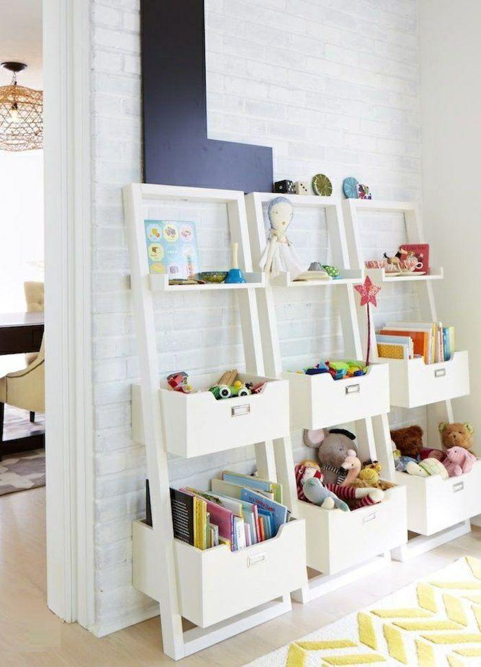 A wooden toys chest DIY ideas | Rangement chambre enfant ...