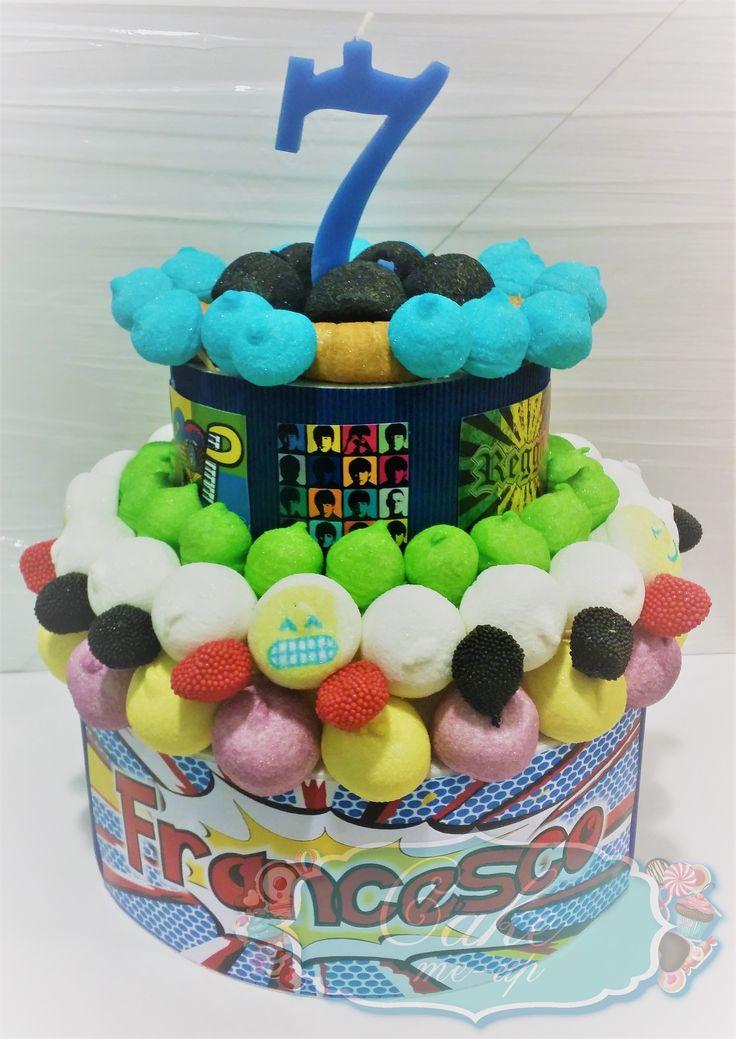 Torta Pop, candy cake