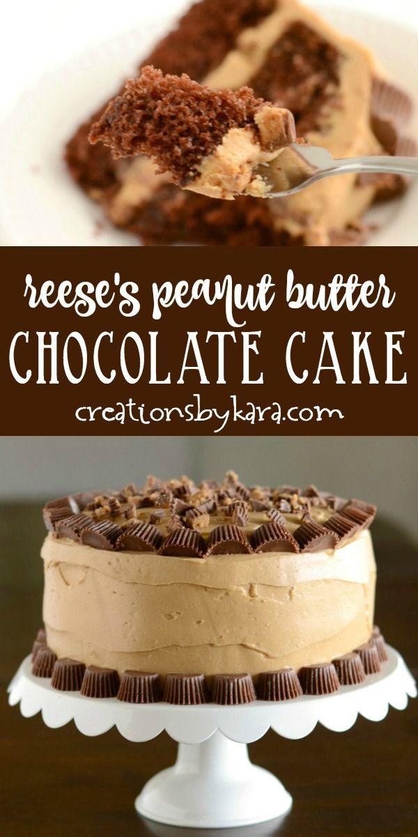 Reese's Peanut Butter Chocolate Cake – homemade pe…