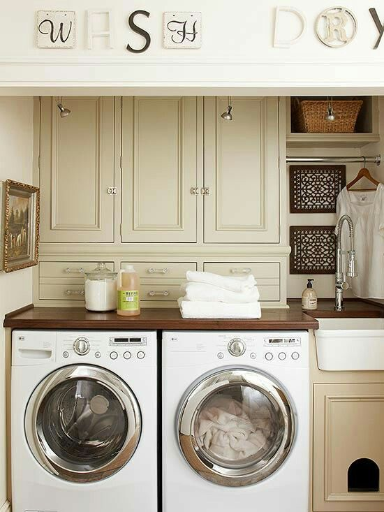 small sink and litterbox cabinet find this pin and more on laundry