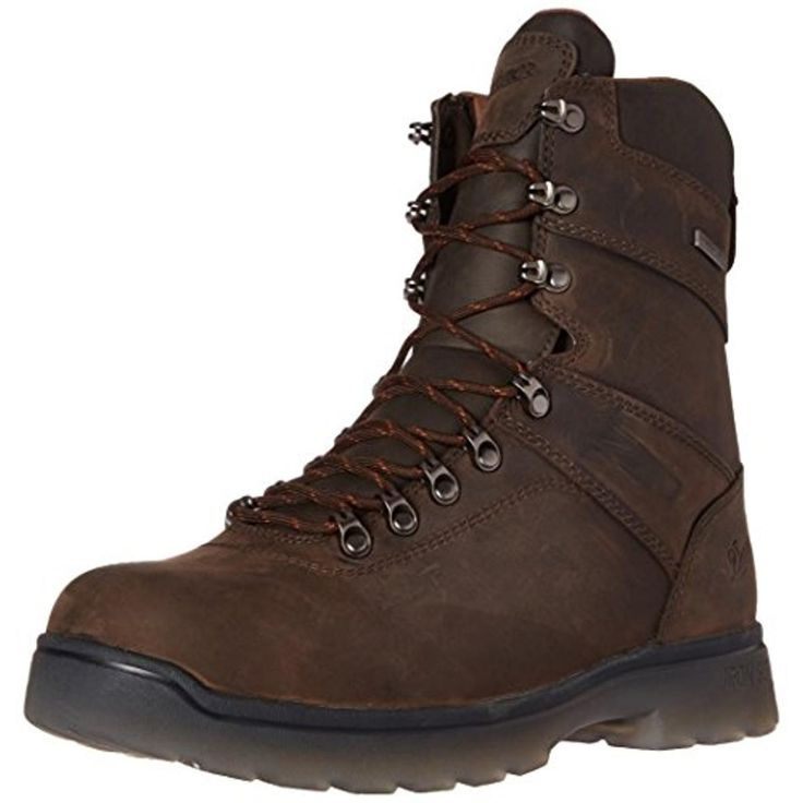 """Danner Mens IronSoft 8"""" Leather Waterproof Work Boots"""