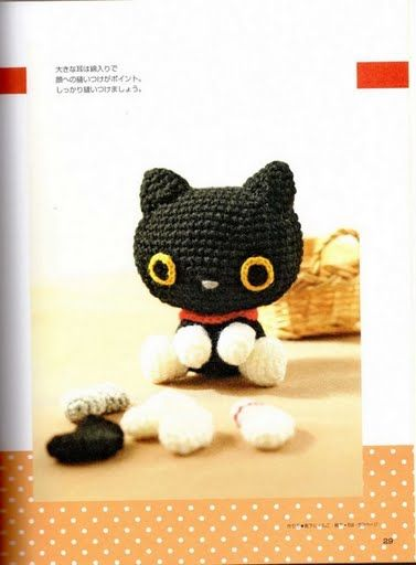 Amigurumi Kitten - FREE Crochet Pattern / Tutorial