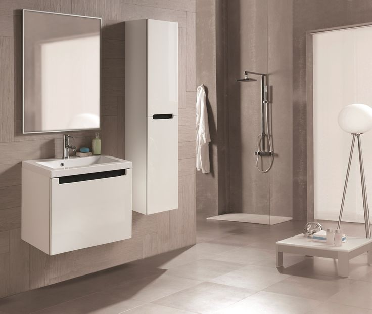Serenity 60 1S white. #elita #meble #lazienka #serenity #furniture #bathroom