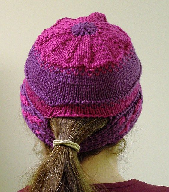 8 best Pony tail loom hat images on Pinterest | Crocheted hats, Free ...