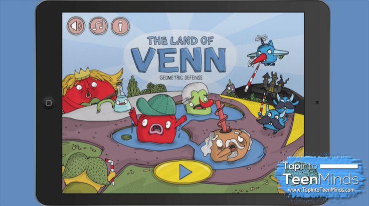 The Land of Venn - Geometric Defense iPad Math App Review
