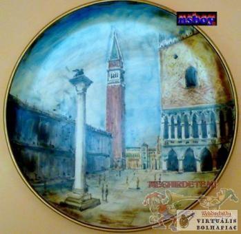 Falitányér Velence, Szent Márk tér (Piazza San Marco).