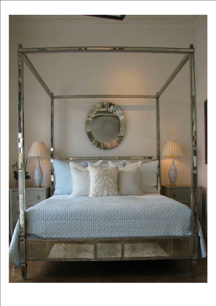 Regency Mirrored Canopy Bed The Mirrored Bed Company - 12 Best Mirror Bed Images On Pinterest 3/4 Beds, Mirror Bed And