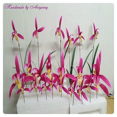 주문제작 DISPLAY 이니스프리 인리치드크림 제주한란 #2 Jeju Han-ran (Cold-growing cymbidium)  of Art Flower (Requested by innisfree Cosmetics) http://blog.naver.com/koreapaperart               #조화공예 #종이꽃 #페이퍼플라워 #한지꽃 #아트플라워 #조화 #조화인테리어 #인테리어조화 #인테리어소품 #에바폼 #디퓨저 #주문제작 #수강문의 #광고소품 #촬영소품 #디스플레이 #artflower #koreanpaperart #hanjiflower #paperflowers #craft #paperart #handmade #제주한란 #이니스프리