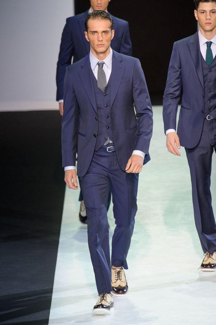 22 mejores imágenes de RUNWAY: Giorgio Armani SS14 en Pinterest ...