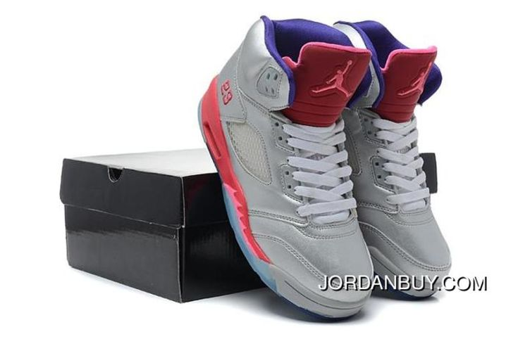 http://www.jordanbuy.com/buying-nike-air-jordan-v-5-retro-womens-shoes-2014-new-silver-pink-online.html BUYING NIKE AIR JORDAN V 5 RETRO WOMENS SHOES 2014 NEW SILVER PINK ONLINE Only $85.00 , Free Shipping!